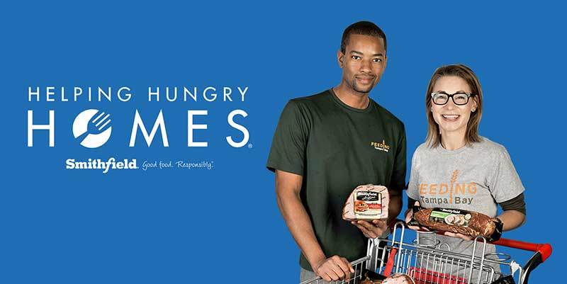 Smithfield Foods Helping Hungry Homes