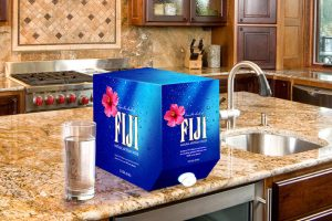 Fiji Water large format container