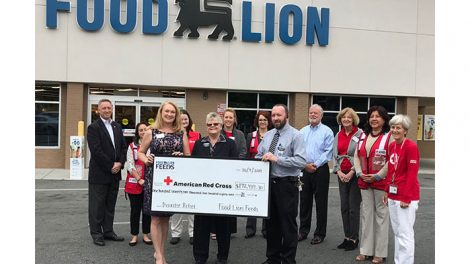 Food Lion American Red Cross donation