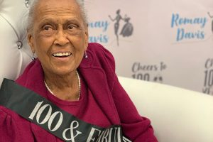 100th birthday, Romay Davis, Winn-Dixie