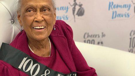 100th birthday, Romay Davis, Winn-Dixie