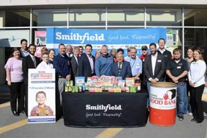 Smithfield Weis Food Bank Donations