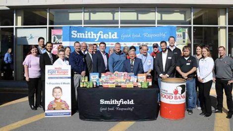 Smithfield Weis Food Bank Donations