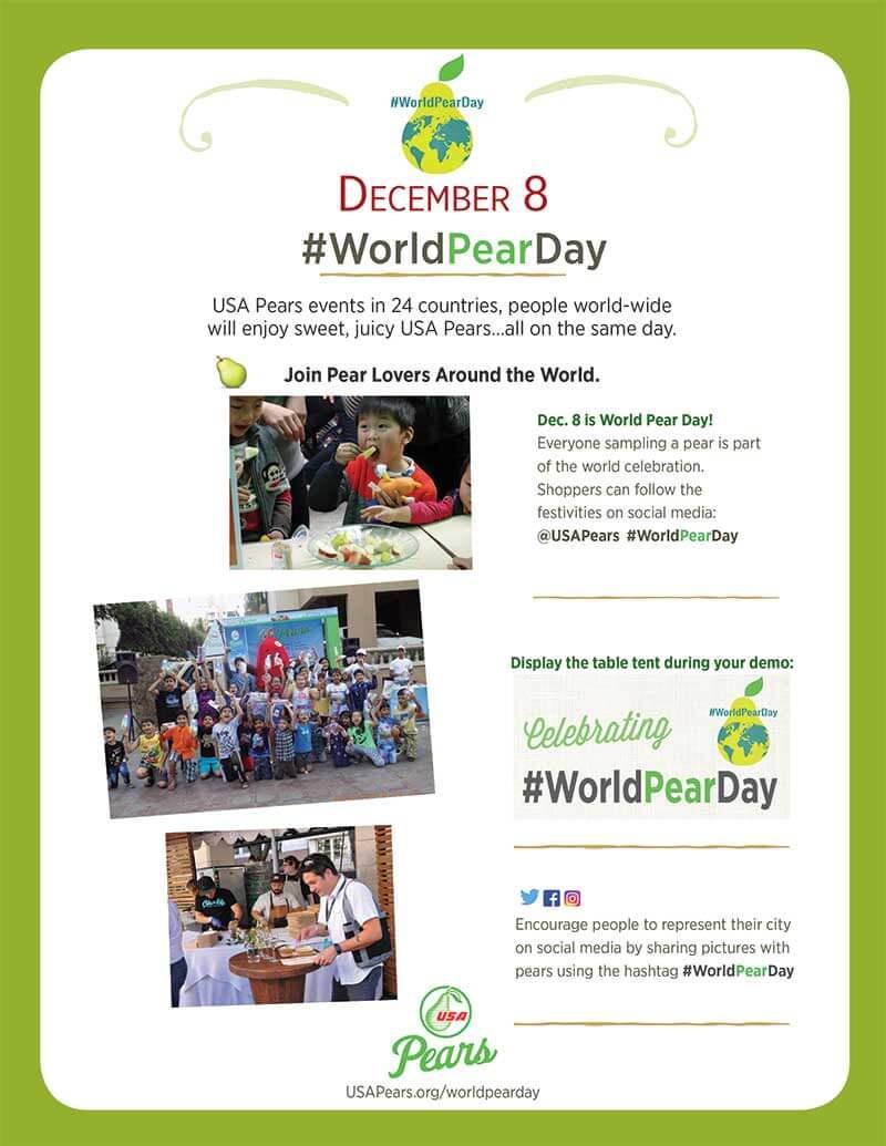 World Pear Day