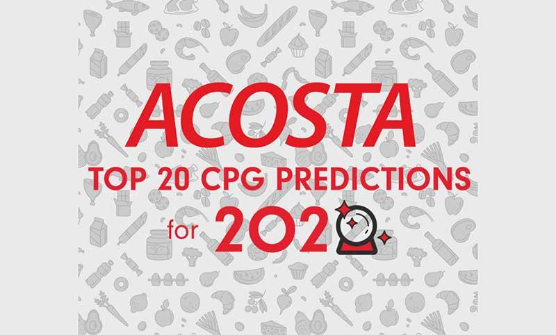 Acosta CPG Predictions 2020