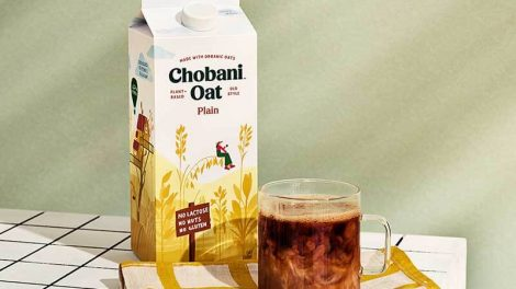 Chobani oat drinks, creamers