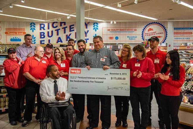 Paralyzed Veterans - Weis Markets