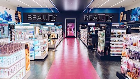 H-E-B beauty department