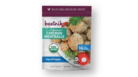 Beetnik meatballs
