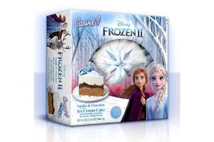 Frozen 2 Ice Cream Cake