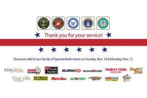 SpartanNash Veterans Day