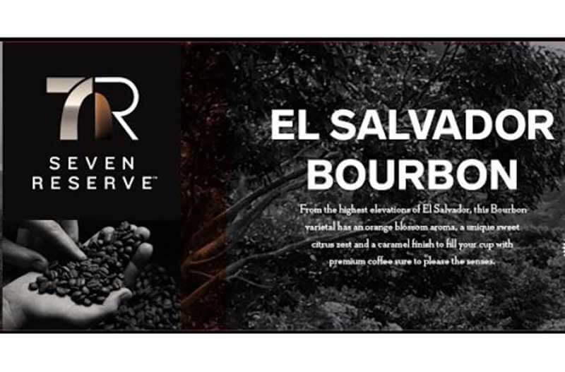 Seven Reserve coffees