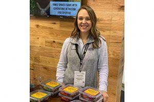 Cassandra Shindelbower, director of retail marketing for Fresh Gourmet Co.