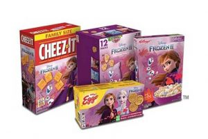 Kellogg Co. Frozen 2 waffles, cereal