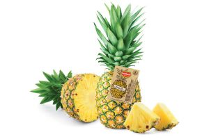 Del Monte Fresh pineapple tags