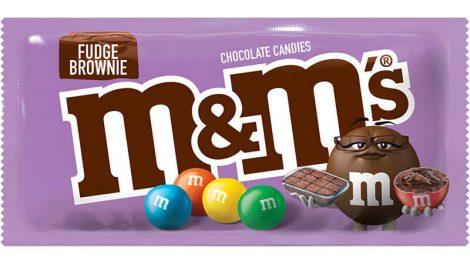 M&M's Fudge Brownies
