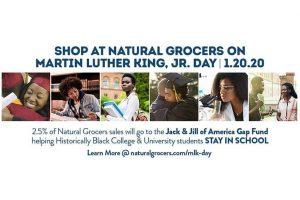 Natural Grocers and JJOA Partner