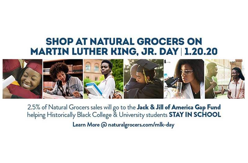 Natural Grocers and JJOA Partner