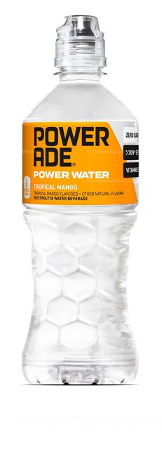 Powerade water