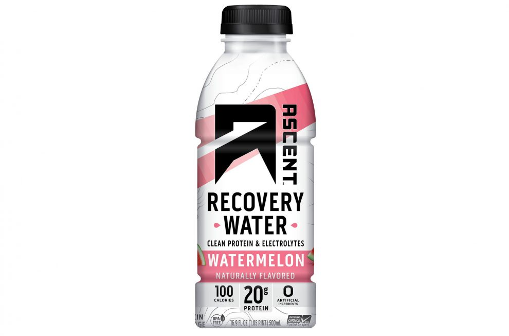 Ascent Protein Recovery Water