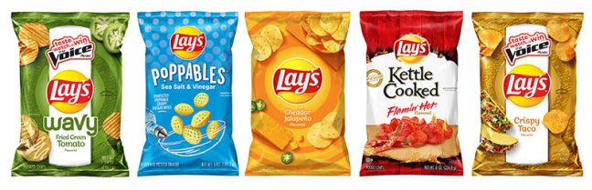 Lay's new flavors The Voice John Legend