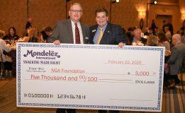 NGA Show Mondelez donation