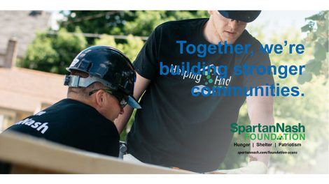 SpartanNash Foundation Habitat for Humanity scan campaign