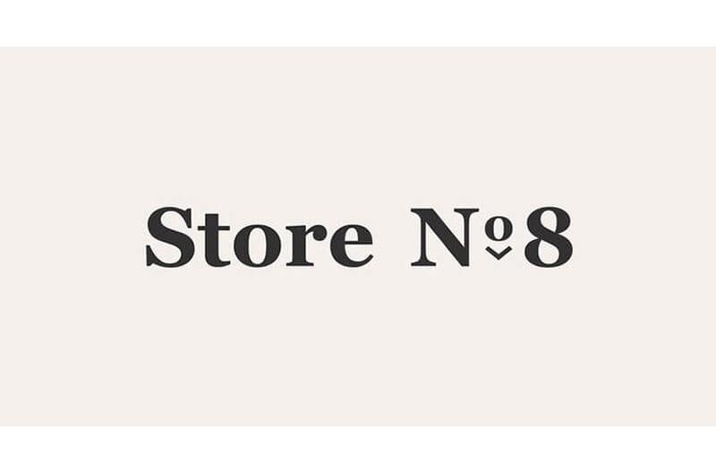 Store No. 8 logo Jet black Walmart