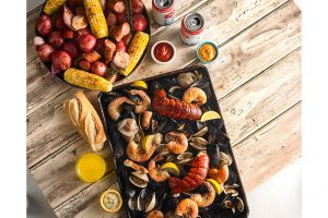 Central Market seafood clam bake