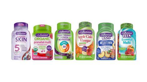 Vitafusion new gummy vitamins