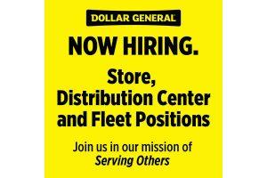 Dollar General hiring Covid-19