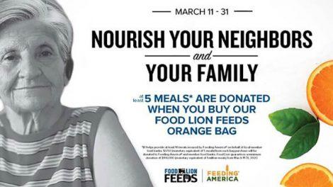 Food Lion Feeds oranges campaign