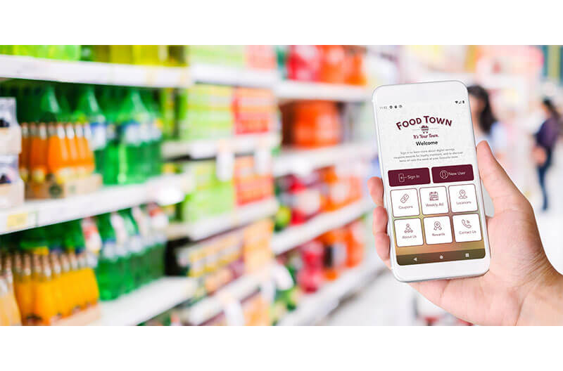 Food Town Grocers Covid-19 new app