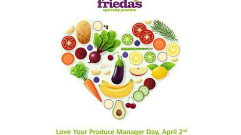Frieda's produce manager day