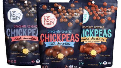 The Good Bean chocolate chickpeas