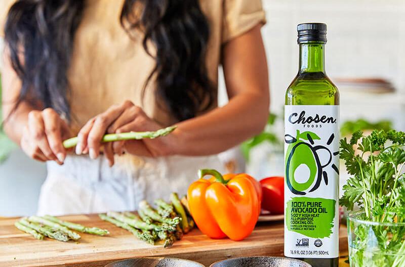 Chosen Foods brand identity