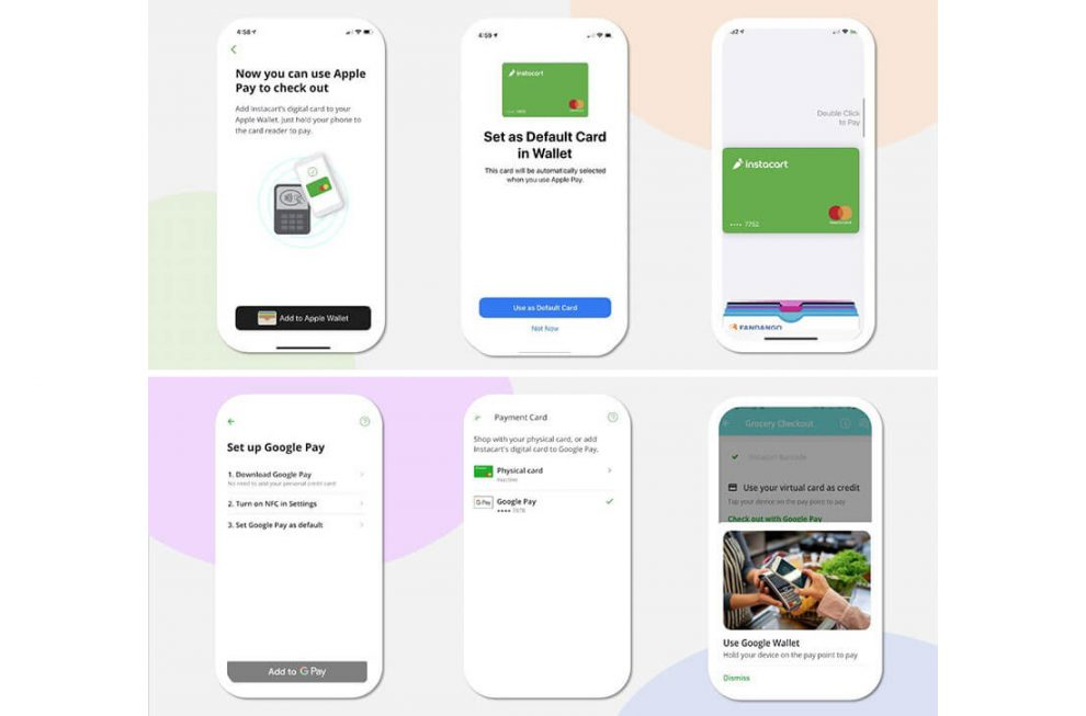 Instacart Mobile Checkout iOS and Android