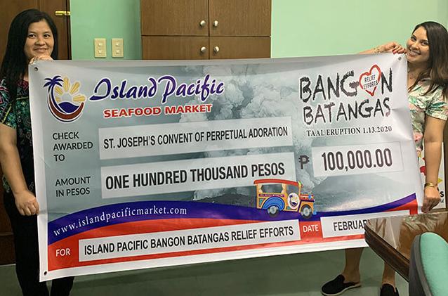 Island Pacific donation 1