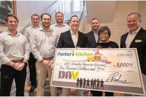 Parker's DAV donation