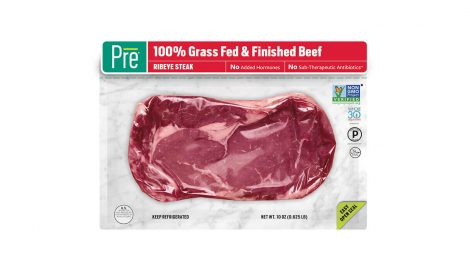 Pre Brands grass-fed beef packaging