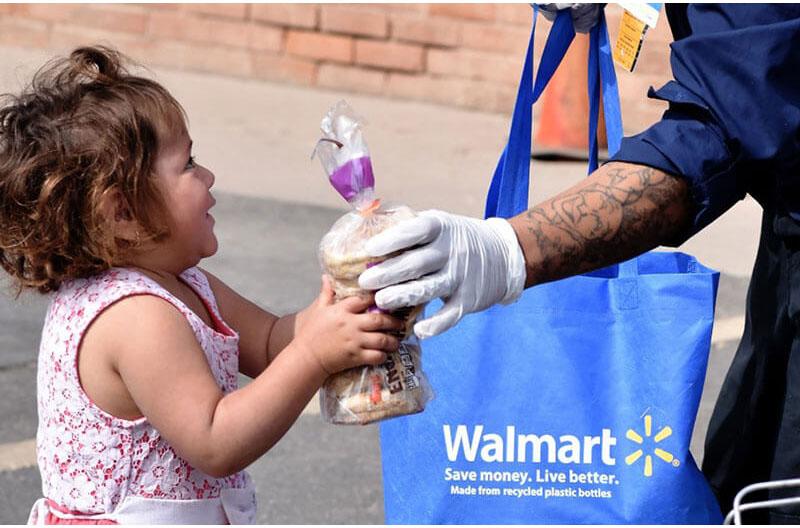 Walmart Covid-19 coronavirus pandemic