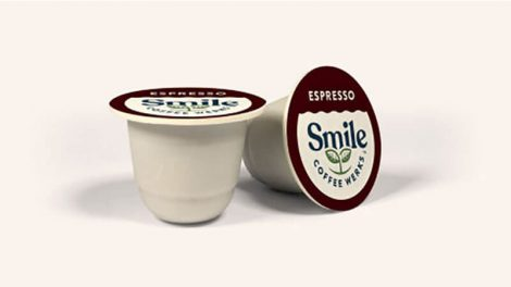 Smile Coffee Werks compostable pods