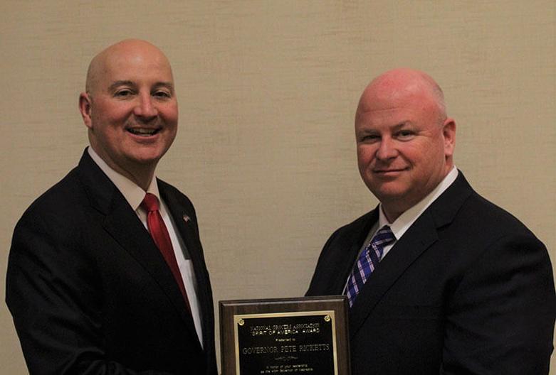 Nebraska profile Ricketts award