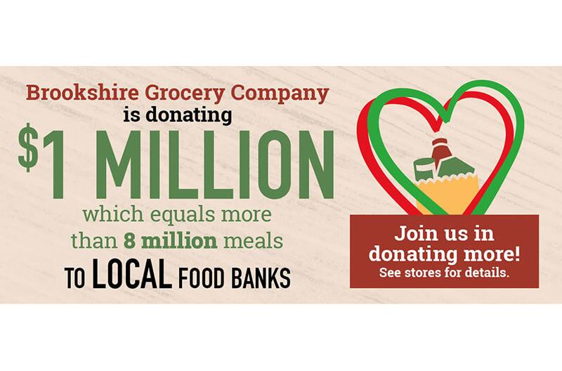 Brookshire, donation