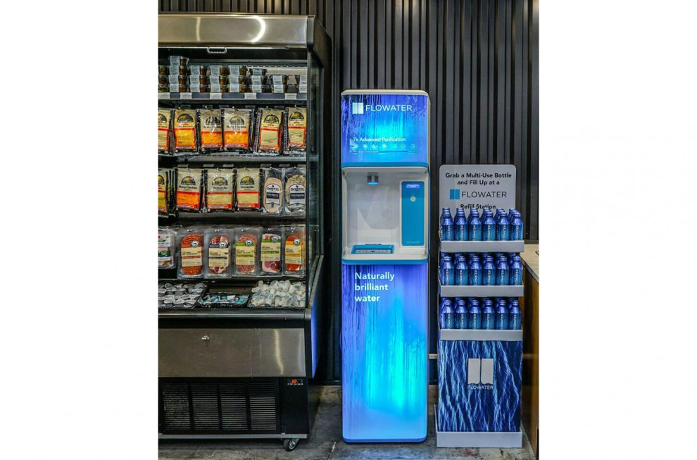 Choice Market Flowater Partner To Ditch Plastic Water Bottles For Good