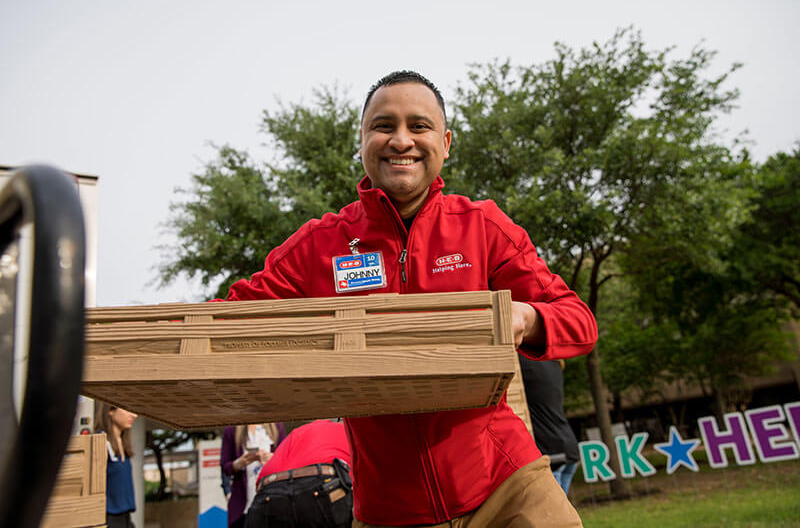 H-E-B meal donations