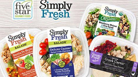 FiveStar Gourmet Foods, salads,, Simply Fresh