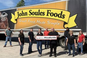John Soules Foods donation