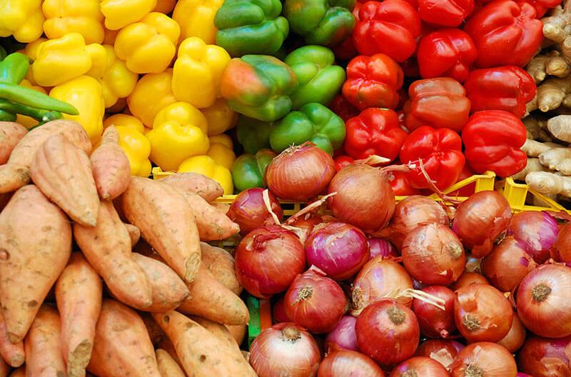 NGA fresh local produce sales
