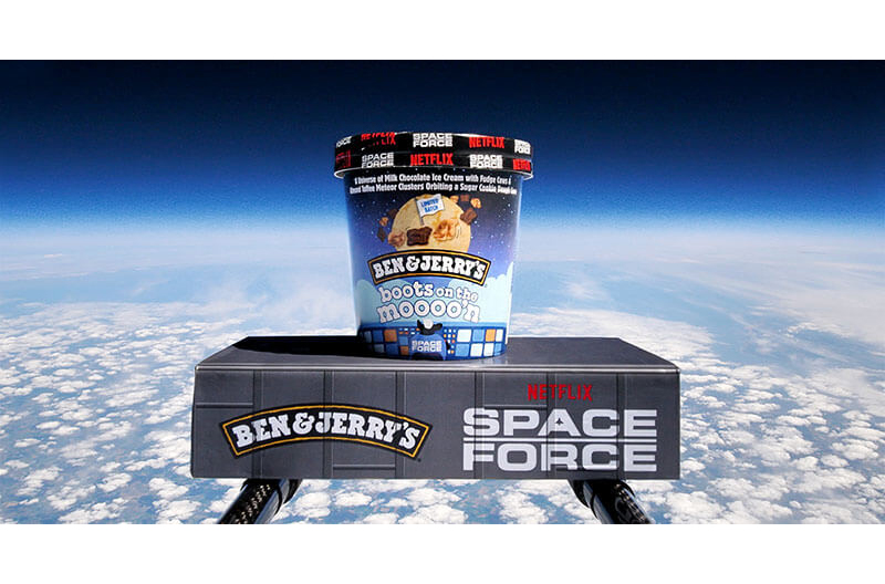 Ben & Jerry's Boots on the Moon Space Force